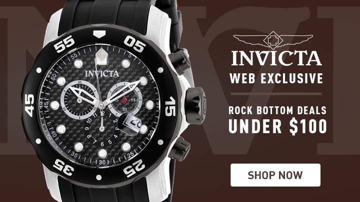 Invicta Web Exclusive 648-491 Invicta Men's 48mm Pro Diver Quartz Chronograph Polyurethane Strap Watch