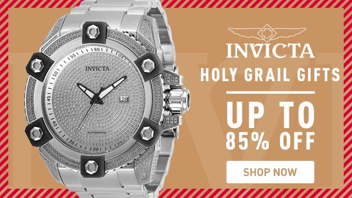 Invicta Holy Grail Gifts - 676-842 Invicta Men's 63mm Grand Octane Ltd Ed Automatic 4.35ctw Diamond Bracelet Watch