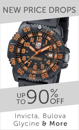 NEW PRICE DROPS Up to 90% Off Invicta, Bulova, Glycine & More- 648-105 Luminox Men's 44mm Navy SEAL Colormark Swiss Made Quartz Silicone Strap Watch