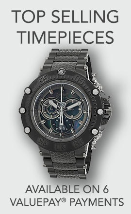 Top Selling Timepieces Available on 6 ValuePay® Payments at ShopHQ 675-772 Invicta Men's 52mm Subaqua Noma VII Swiss Quartz Chronograph Stainless Steel Bracelet Watch