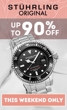 This Weekend Only Stuhrling Original Sale Up to 90% OFF