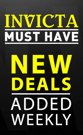 Invicta Must Haves  New Deals Added Weekly