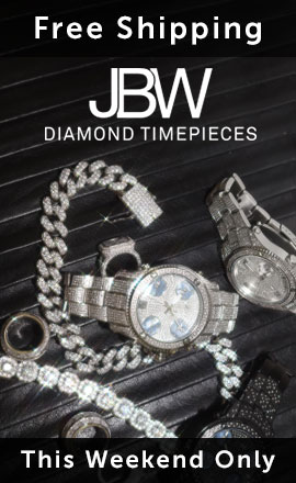 Free Shipping JBW Diamond Timepieces This Weekend Only 633-210 JBW Men's 56mm Jetsetter Swiss Quartz Five Time Zone Diamond Accented Stainless Steel Bracelet Watch