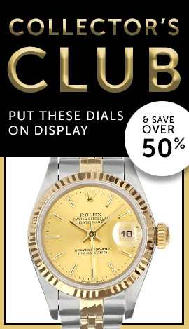 Collector's Club Put These Dials on Display & Save Over 50% - 686-826 Pre-Owned Rolex Women's Datejust 26 18K Yellow Gold Fluted Bezel Jubilee Bracelet Watch