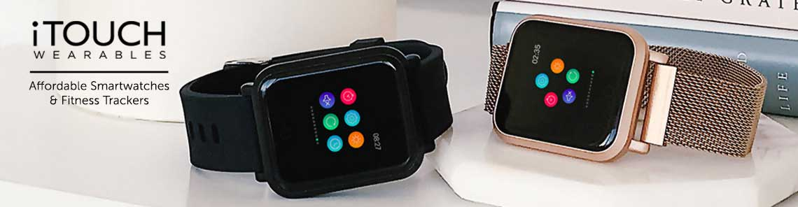 Shop iTouch Wearables | Affordable smartwatches and Fitness Trackers at ShopHQ