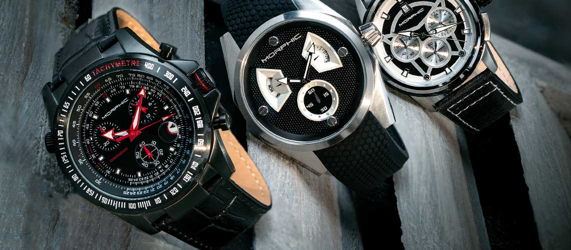 Morphic has become the premiere watch brand for men wanting a balance of sportiness and thought provoking designs.