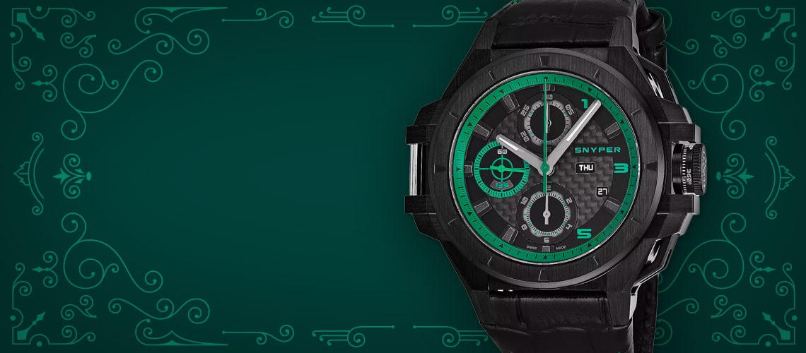 Set your sights on Snyper watches