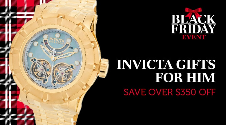 Invicta Gifts for Him Save Over $350 Off