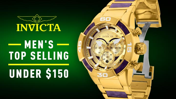 676-832 Invicta 52mm Speedway Quartz Chronograph Stainless Steel & Resin Bracelet Watch