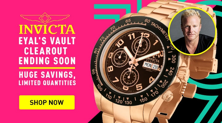 685-597 Invicta Men's 45mm Speedway Automatic Chronograph Rose-tone Stainless Steel Bracelet Watc