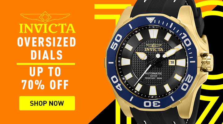 Invicta Oversized Dials Up to 70% OFF 679-138 Invicta Reserve 52mm Bolt Zeus Magnum Mechanical Tourbillon Mother-of-Pearl Dial Bracelet Watch
