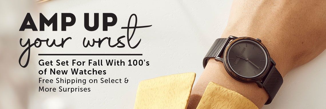 Amp Up Your Wrist  Get Set For Fall With 100's of New, Free Shipping on Select & More Surprises