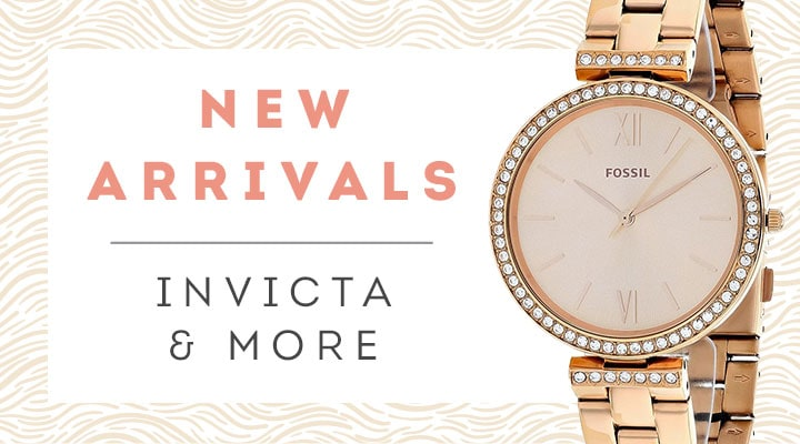 New Arrivals Invicta & More