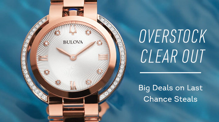 Overstock Clear Out Big Deals on Last Chance Steals - Bulova Rubaiyat