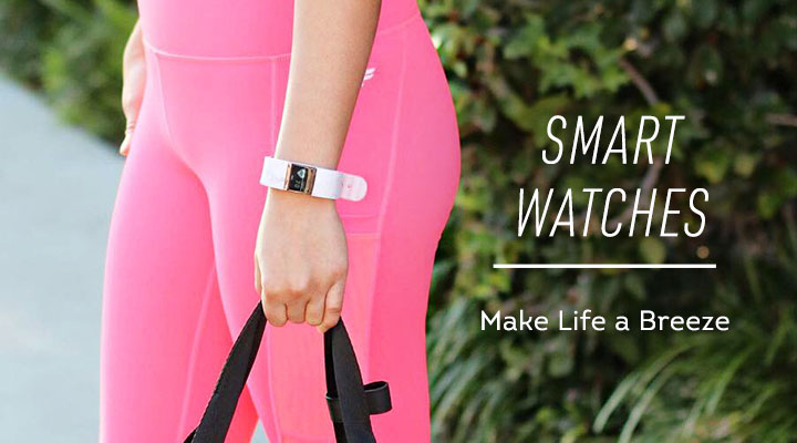 Smart Watches -  670-490 iFitness Water-Resistant Activity Tracker for Android or iOS w 2 Bands