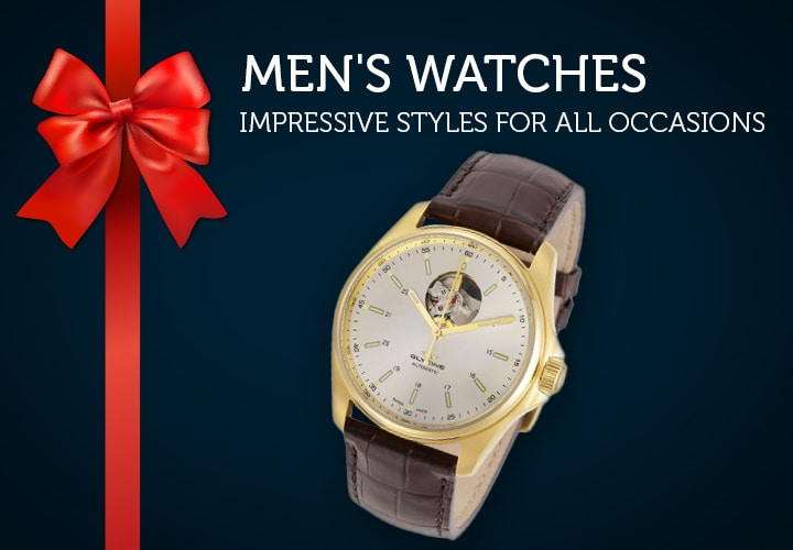 Men's Watches Impressive Styles For All Occasions