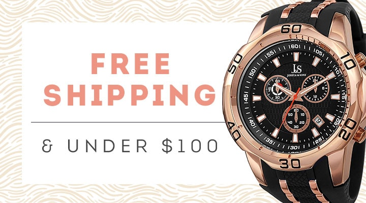 Free Shipping & Under $100