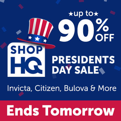 President's Day Sale Up to 90% OFF Invicta, Citizen, Bulova & More - Ends Tomorrow