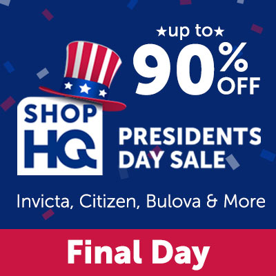 President's Day Sale Up to 90% OFF Invicta, Citizen, Bulova & More - Final Day