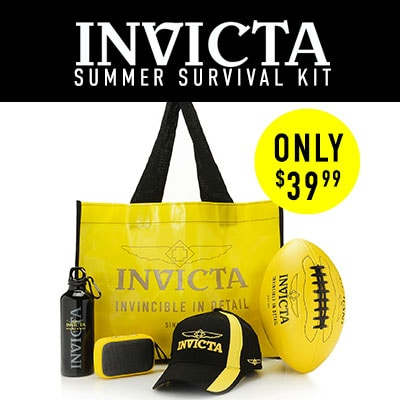 Invicta Summer Survival Kit Only $39.99 - 681-663 5-Piece Invicta Accessory Bundle