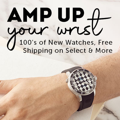 Amp Up Your Wrist 100's of New, Free Shipping on Select & More