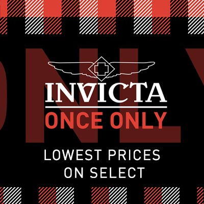 Invicta Once Only Days The Lowest Prices of The Season