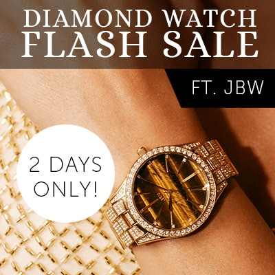 Diamond Flash Sale Ft. JBW