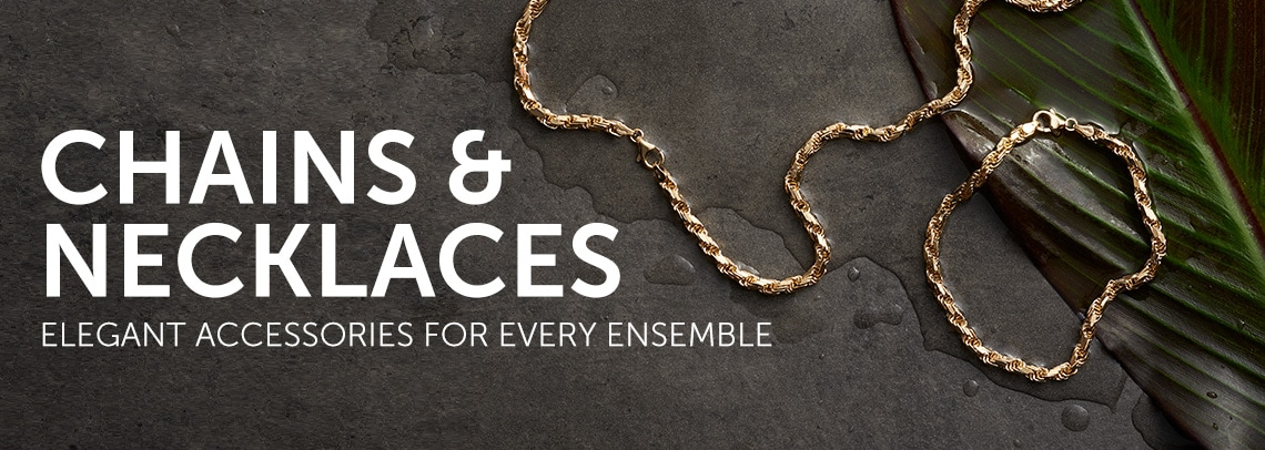 Chains & Necklaces Elegant Accessories for Every Ensemble