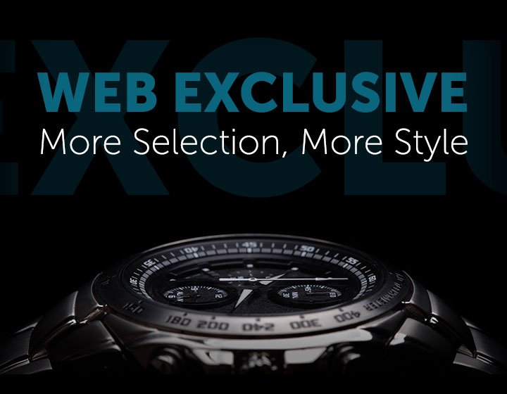 Web Exclusive More Selection, More Style