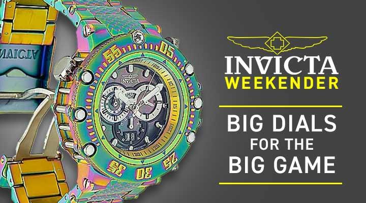 693-289 Invicta Men's 52mm Subaqua Noma VII Shutter Swiss Quartz Chronograph Bracelet Watch
