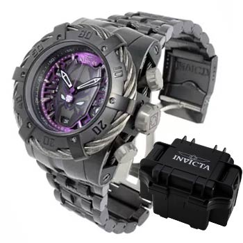 Limited Edition Timepieces Get These Before They're Gone - 687-185 Invicta Marvel Men's 54mm Grand Bolt Zeus Limited Edition Quartz Chronograph Bracelet Watch w 1DC