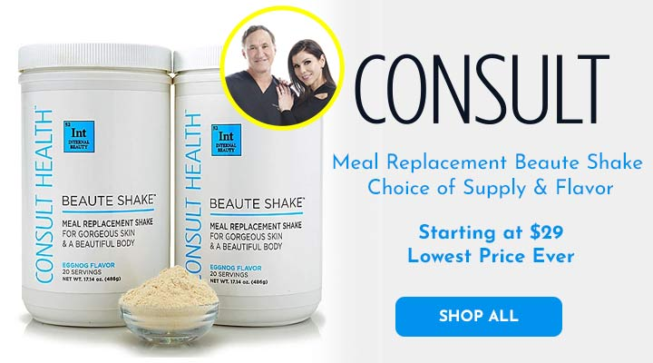 314-836 Consult Beaute Meal Replacement Beaute Shake Choice of Supply & Flavor