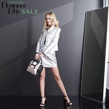 Fashion Designer Day Sale - Presale - Shop Early! - 747-801 Heather's Closet Woven 100% Cotton Long Sleeve Button Front Metallic Jacket