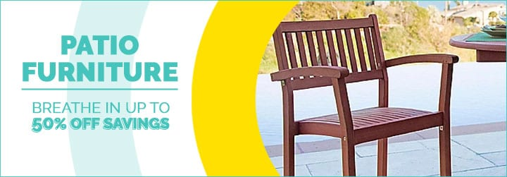 481-998 Vifah Set of 2 (33) Malibu Eucalyptus Wood Outdoor Stacking Chairs