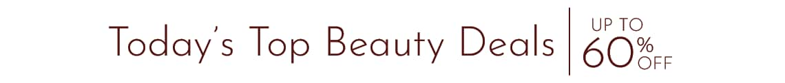 Today's Top Beauty Deals