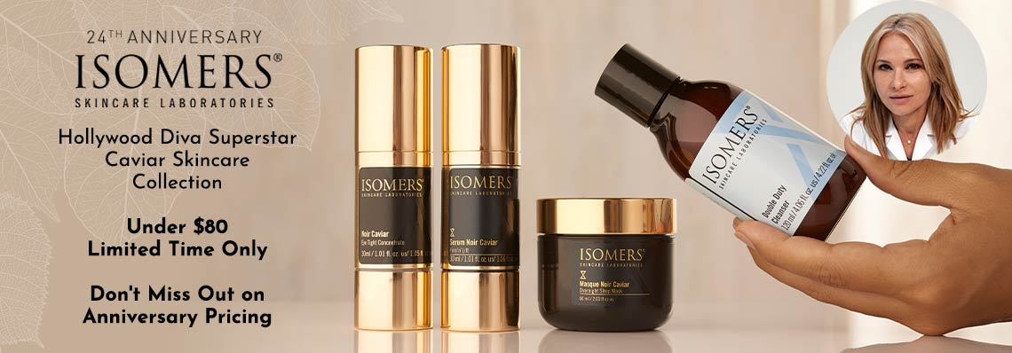 320-346 ISOMERS Skincare Hollywood Diva Superstar Caviar Skincare Collection