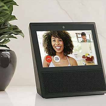 Top Tech ft. Amazon Echo Control Your Home With Your Voice! 485-950 Amazon Echo Show 7 Touchscreen Smart Home Speaker w Alexa