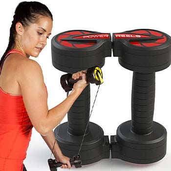 Billy Blanks Resistance Training In Today's Top Finds - 003-143 Billy Blanks PowerReels Multi Directional Resistance Training