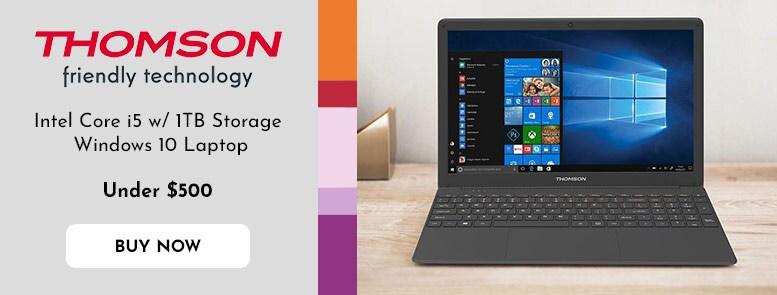 503-549 Thomson NEO15 15.6 Intel Core i5 1TB Storage Windows 10 Laptop Computer w HD Display & AC Wi-Fi