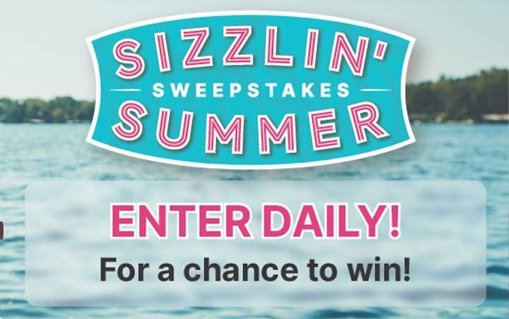 Sizzlin' Summer Sweepstakes