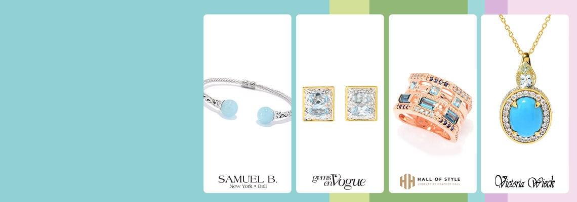 192-572 Artisan jewelry by Samuel B 166-463 Gems en Vogue 187-306 Hall of Style 189-793 Victoria Wieck