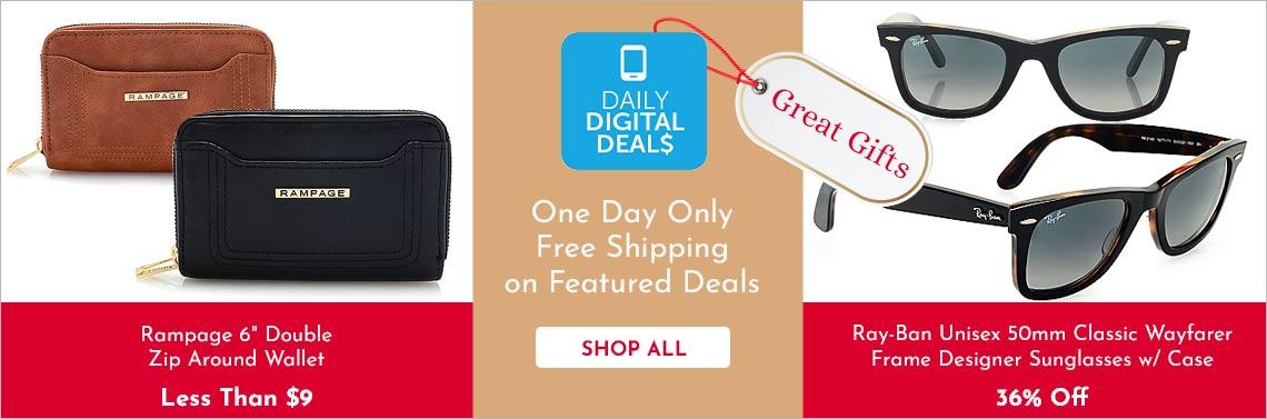 Shop All Daily Digital Deals -  747-089, 746-900
