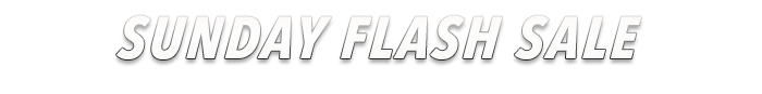 Sunday Flash Sale - Limited Time Discounts on Jewelry, Watches, Fashion & More!