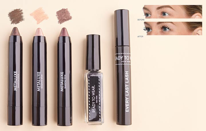 319-801 - Ready To Wear Beauty logo  Ready to Wear 5-Piece Perfect Eye Look
