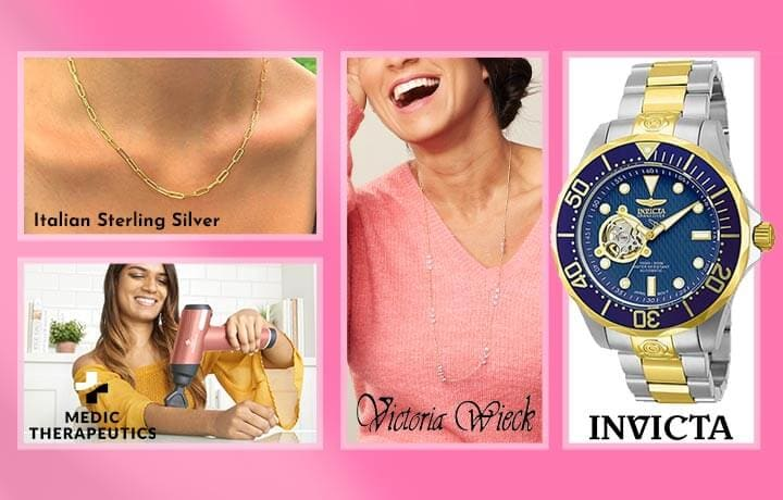 Today's Top Values & Deals - 692-385 Invicta, 189-868 Victoria Wieck, 003-485 Medic, 195-707 Italian Sterling Silver