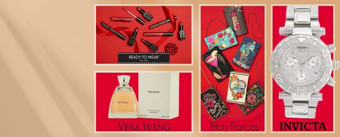 Today's Top Values & Deals - 320-106 Ready to Wear Lipstick,  751-596 Mary Frances,  657-886 Invicta,  303-030 Vera Wang