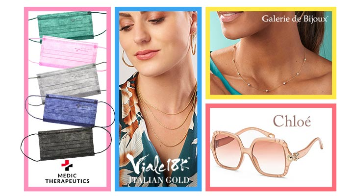 Today's Top Values & Deals -   192-140 Viale18K® Italian Gold Choice of Length Rope Chain Necklace,  190-896 Sonia Bitton Galerie de Bijoux® 18 0.80ctw Diamond Station Necklace w 2 Extender, 761-783 Chloe 55mm Scalloped Frame Sunglasses