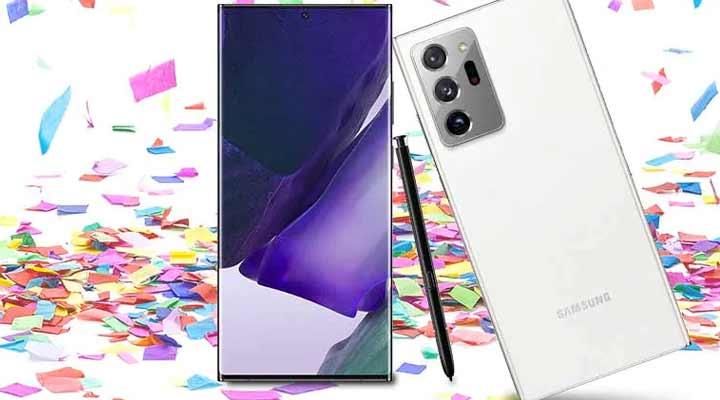 494-779 Samsung Galaxy Note20 N985F 6.9 256GB Hybrid Dual SIM GSM Unlocked Android Smartphone