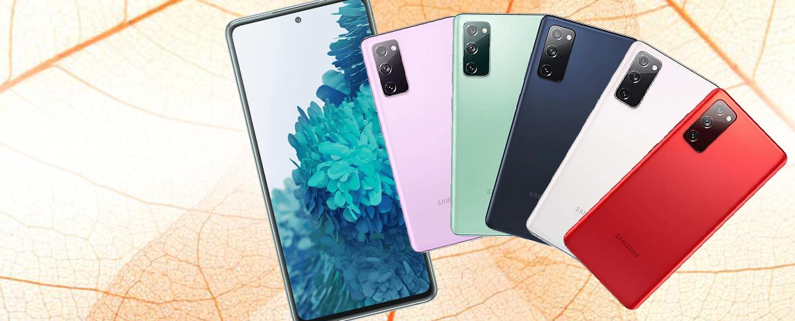 500-510 Samsung Galaxy S20 FE G780F 6.5 256GB Dual Sim GSM Unlocked Android Smart Phone