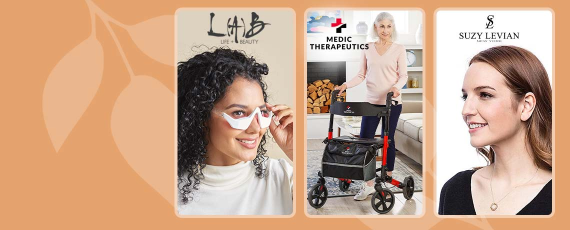 Today's Top Values & Deals  -  319-539 L(A)B Beauty Revital-Eyes LED + Microcurrent Eye Mask,  002-703 Medic Therapeutics Multi-Functional Adjustable Walker, 164-834 Suzy Levian New York Sterling Silver 1.00 DEW Simulated Diamond Circle Eternity Pendant w 18 Chain